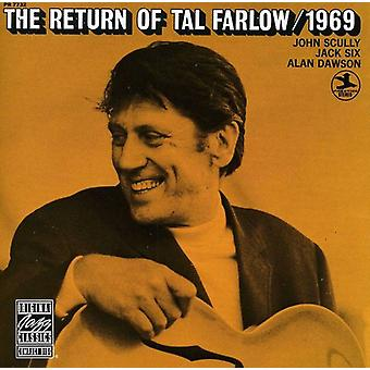 Tal Farlow - 1969-Return of [CD] USA import