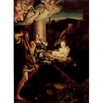 Correggio - The Holy Night Poster Print Giclee