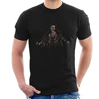 Sig goddag til mine små venner Machete mænd T-Shirt