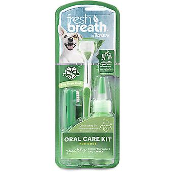 TropiClean Fresh Breath Kit de Higiene Dental para perros grandes  59 ml