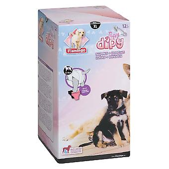 Flamingo Very dog diapers elderly or Cubs Xl (Dogs , Dog Clothes , Panties)