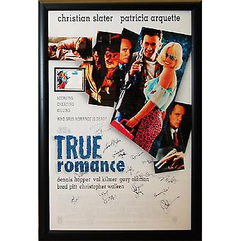 True Romance - Signed Movie Poster