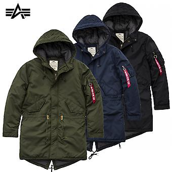 Alpha industries hooded fishtail CW TT jas