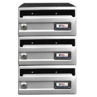 BTV Buzon Stainless Steel Silver G3 245X250 (DIY , Hardware , Home hardware , Mailboxes)