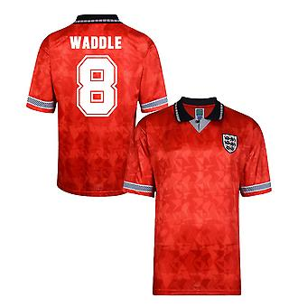 Score Draw England World Cup 1990 Away Shirt (Waddle 8)