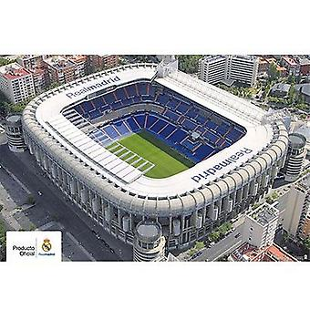 Real Madrid Poster Stadium 4