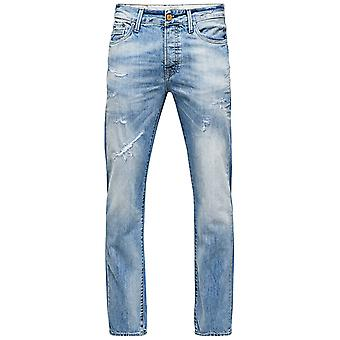 Jack and Jones Nick Vintage BL 277 Jeans Faded Straight Leg Regular Fit