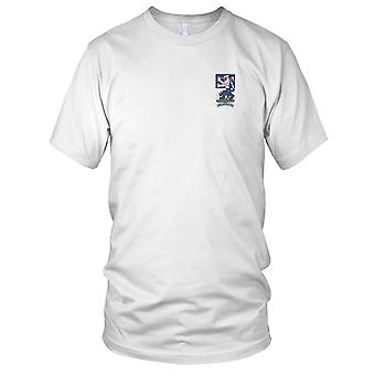 US Army - 119th Infantry Regiment Embroidered Patch - Ladies T Shirt