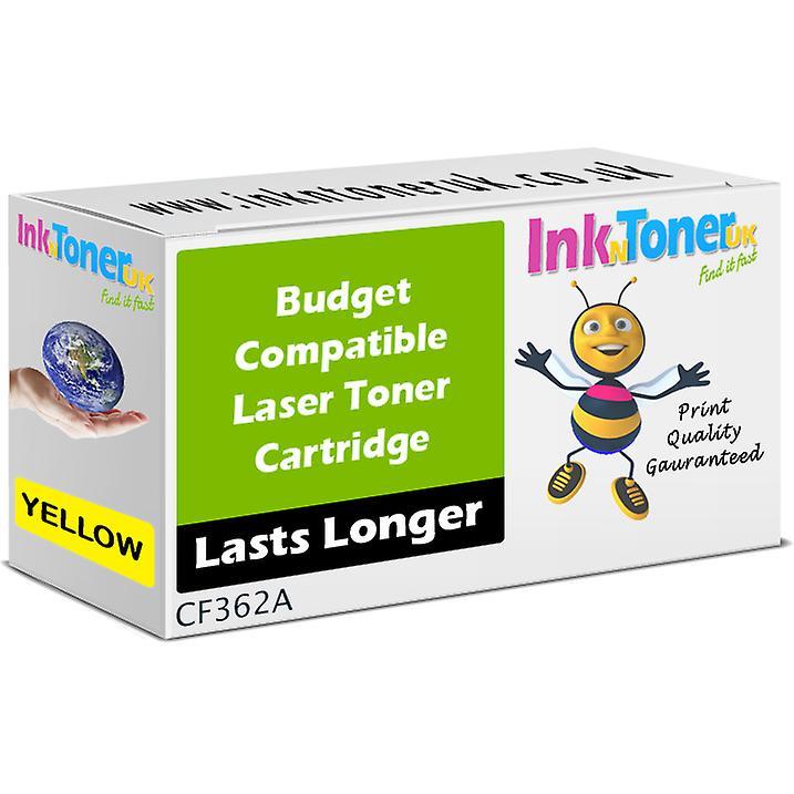 Toner jaune CF362A 508 a compatible pour HP Couleur Laserjet M553