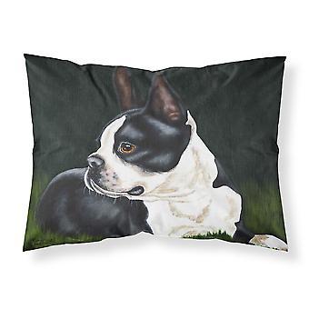 Boston Terrier belleza tela almohada estándar