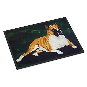 Carolines Treasures  AMB1064JMAT Dempsey Boxer Indoor or Outdoor Mat 24x36