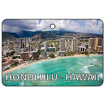 Honolulu - Hawaii Car Air Freshener