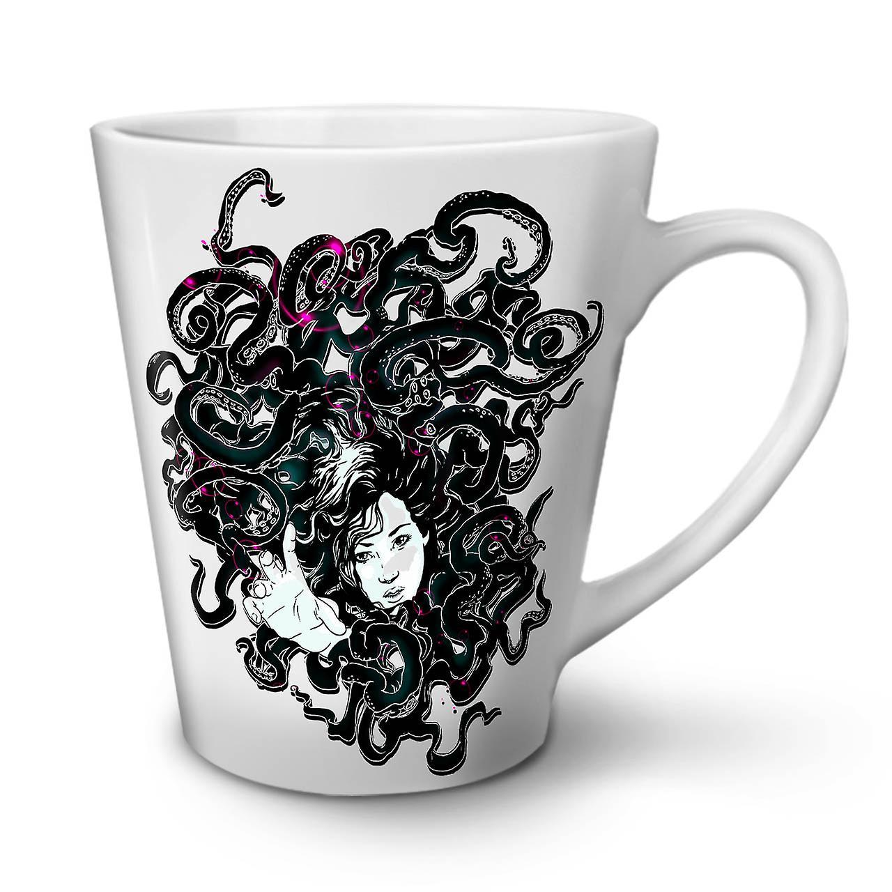 Blanche 12 Café OzWellcoda Nouvelle Fille Art Tasse En Céramique Latte Piégée OZuTPikX