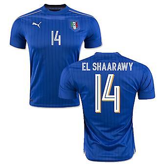 2016-2017 Italia Puma hjem skjorte (El Shaarawy 14) - barn