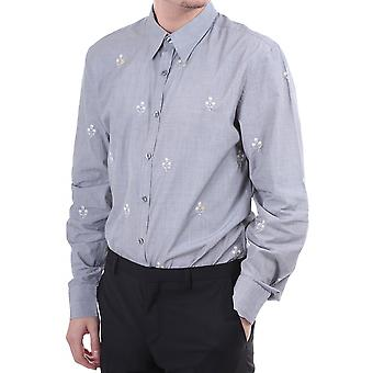 PS Paul Smith Mens L/s Emb Shirt