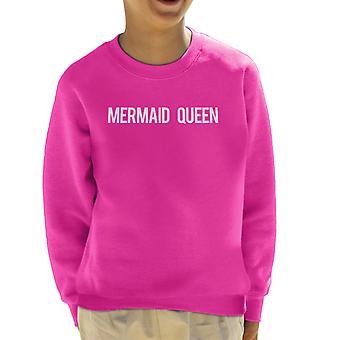 Mermaid Queen Kid's Sweatshirt