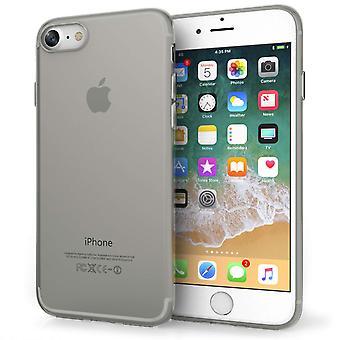 Yousave iPhone 8 Gel silikone Case - røg sort