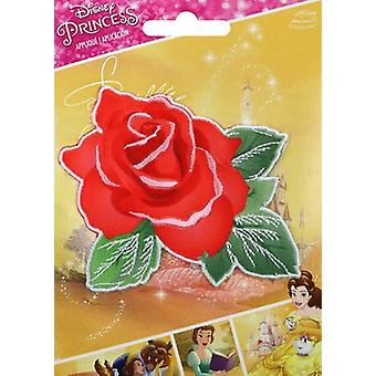 Disney Princess Iron-On Applique-Beauty & The Beast Rose 193 2019