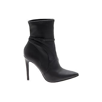 Kendall + Kylie women's KKAUTUM01 black leather ankle boots