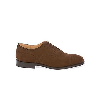 Church's men's DIPLOMATBROWN Braun suede lace-up shoes