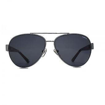 Levis Pilot Sunglasses In Gunmetal