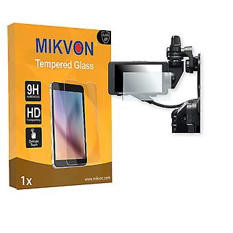 Sony PXW-FS5 Screen Protector - Mikvon flexible Tempered Glass 9H (Retail Package with accessories)