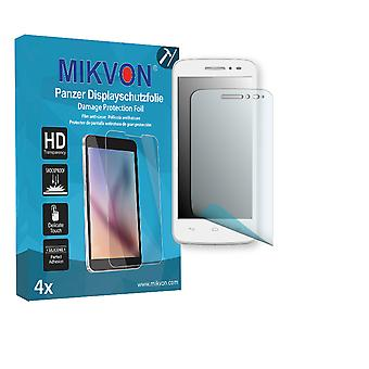 Alcatel OneTouch Pop Astro Screen Protector - Mikvon Armor Screen Protector (Retail Package with accessories)