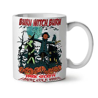 Burn Witch Sexy NEW White Tea Coffee Ceramic Mug 11 oz | Wellcoda