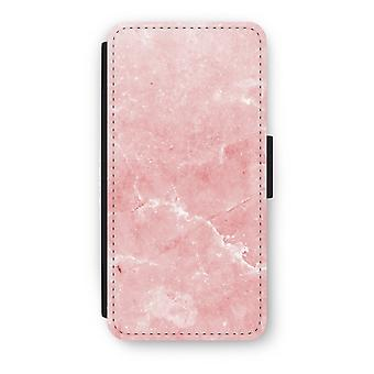 iPhone 7 Flip Case - rosa marmor