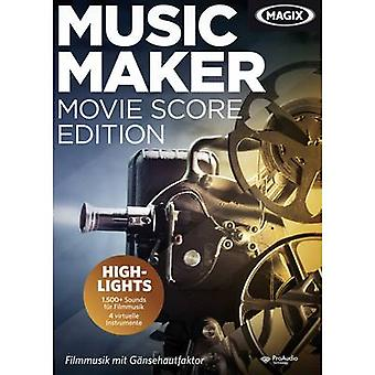 MAGIX Music Maker film Score Edition Full versjon, 1 lisens Windows musikk