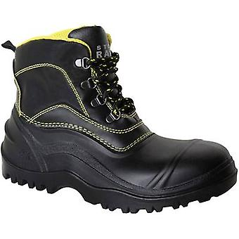 Safety work boots S5 Size: 42 Black, Grey Leipold + Döhle STOPRAIN 24999 1 pair