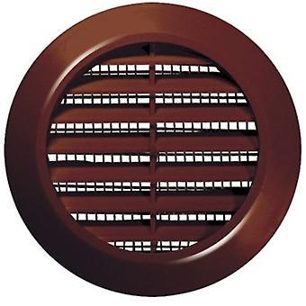 70mm diámetro blanco/marrón redondo agujero de puerta aire ventilación Rejilla carpintería muebles