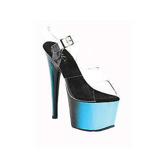 Ellie Shoes E-709-Ombre 7 Inch Mule With Ombre Design