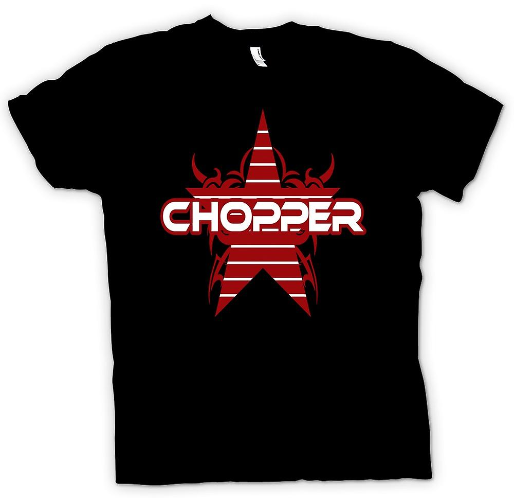 Kids T-shirt - Chopper Retro fiets - grappig