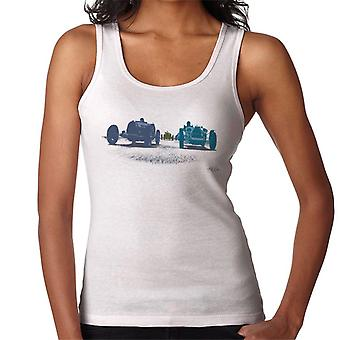 Bugatti 1920s Grand Prix Race Cars Art Women's Vest