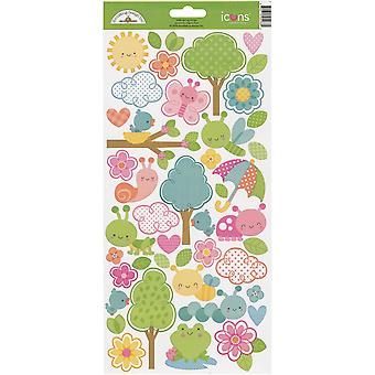 Spring Things Cardstock Stickers 6