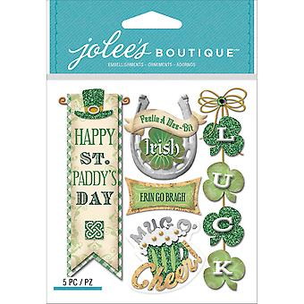 Jolee's Boutique Dimensional Stickers-Irish Words & Phrases