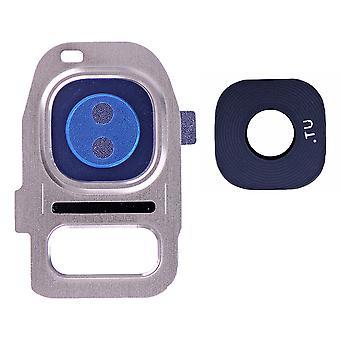 For Samsung Galaxy S7/S7 kant bak kamera holder med linse-gull