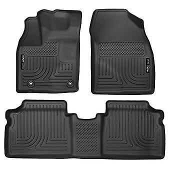 Husky Liners Front & 2nd sæde Floor Liners passer 2015 Prius to/tre/fire/fem