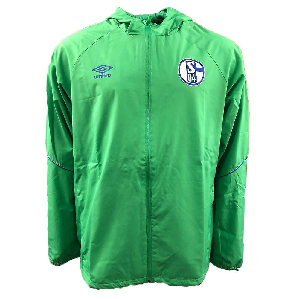 2018-2019 Schalke Umbro kurtka prysznic (zielony)