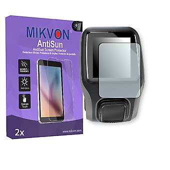TomTom Adventurer Screen Protector - Mikvon AntiSun (Retail Package with accessories)