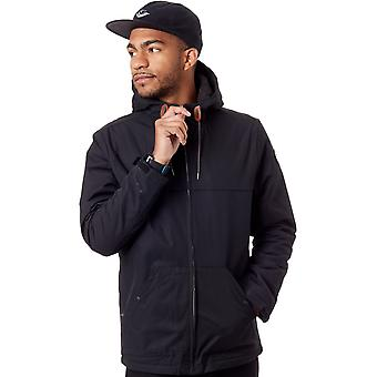 Quiksilver Black Wanna - Sherpa Lined Water Resistant Jacket