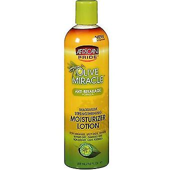 African Pride Olive Miracle Anti Breakage Leave In Conditioner 355 ml