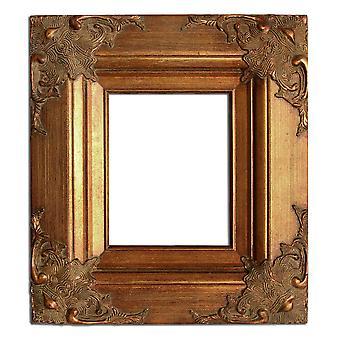 20 x 25 cm ó 8 x 10 in, marco de foto en oro
