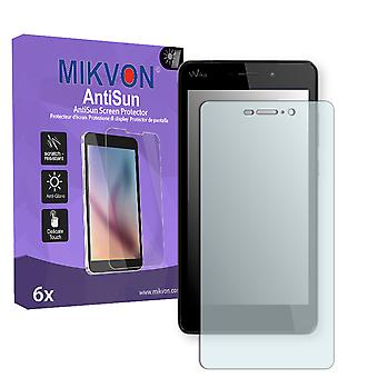 Wiko Pulp Fab 4G Screen Protector - Mikvon AntiSun (Retail Package with accessories)
