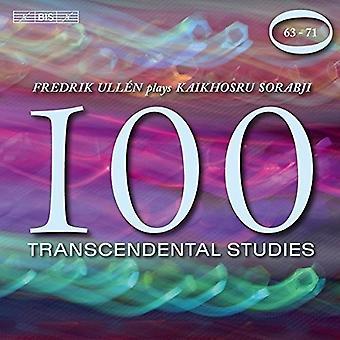 Sorabji / Ullen, Fredrik - transcendentale Studies Nos. 6371 [CD] USA import