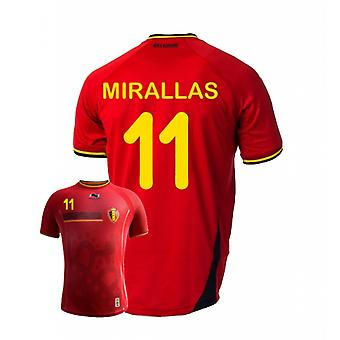 2014-15 Belgium World Cup Home Shirt (Mirallas 11) - Kids