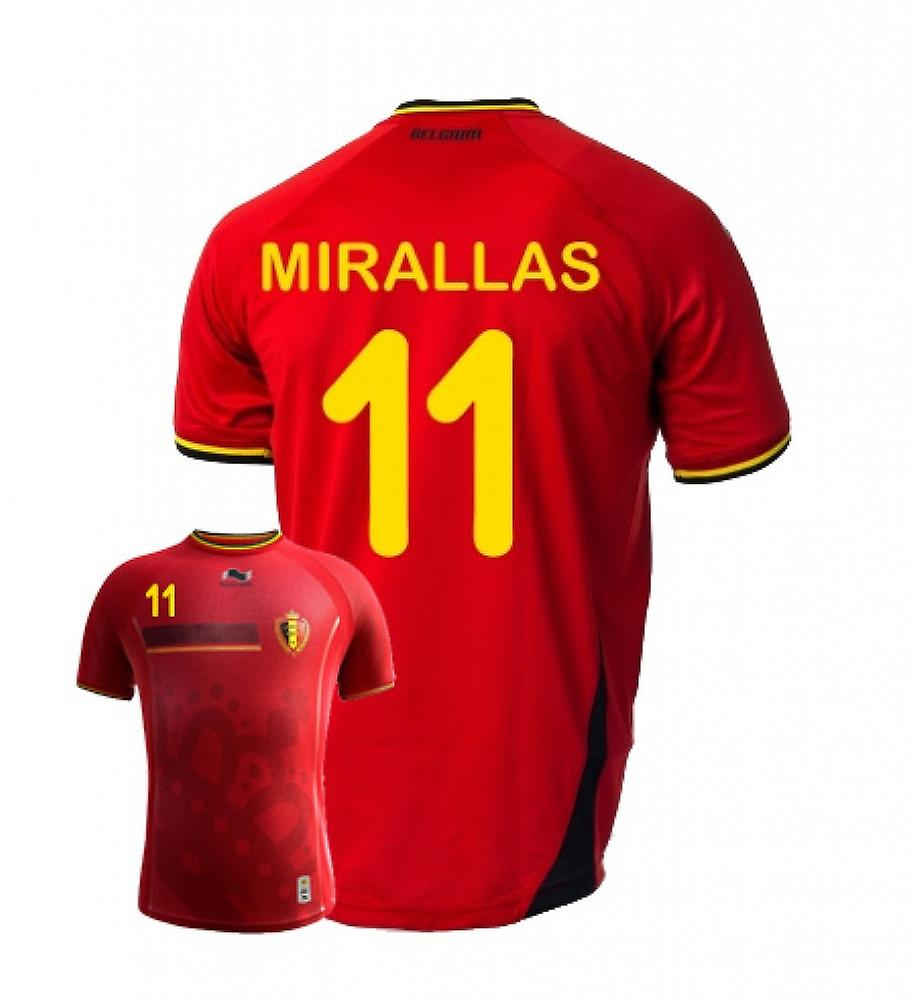 2014-15 Belgien World Cup Home Shirt (Mirallas 11) - Kinder