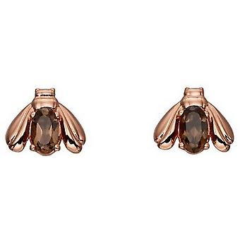 Elemente Silber Bug Ohrringe - Rose Gold