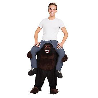 Gorilla Piggy Back Costum